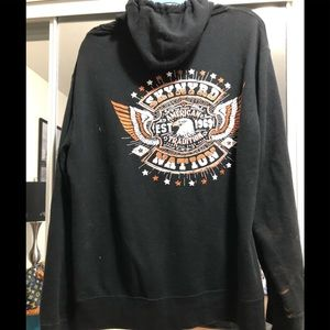 Lynyrd Skynyrd zip up hoodie from concert